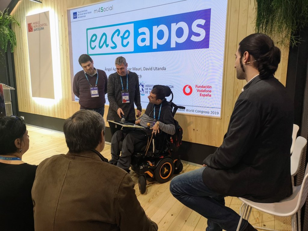 Presentació d'Easeapps al Mobile World Congress